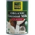 NATIVE FOREST COCONUT MILK ORG, 13.5 FO