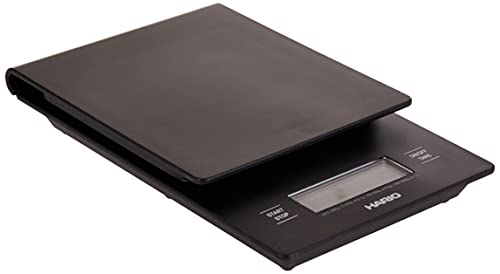 Hario V60 Drip Coffee Scale and Timer, Black