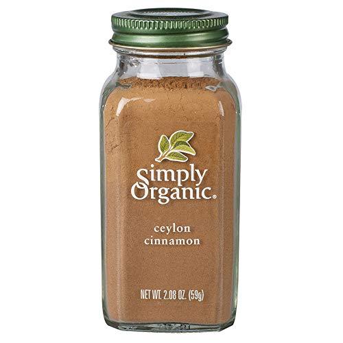 Simply Organic Ground Ceylon Cinnamon, Certified Organic, Vegan   2.08 Ounce   Cinnamomum verum J. Presl