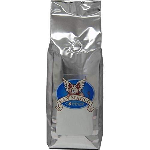 San Marco Coffee Flavored Ground Coffee, Strawberry Shortcake, 1 Pound
