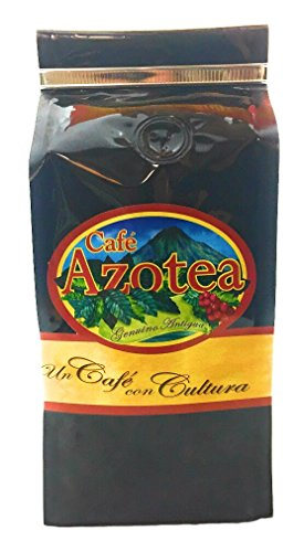 La Azotea Estate Genuine Antigua Guatemala Coffee - 100% Arabica SHB - Ecological Single Origin Gourmet Coffee (Dark Roast, Ground - 11.5 Oz)