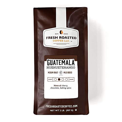 Fresh Roasted Coffee, Guatemalan Huehuetenango, Medium Roast, Kosher, Whole Bean, 32 Ounce