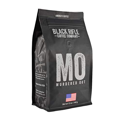 Black Rifle Coffee Ground (Murdered Out (Extra Dark Roast), 12 Ounce)