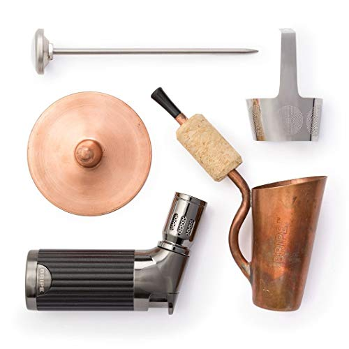 BRIPE- Coffee Brew Pipe Kit, Portable Outdoor Coffee Maker, Torch Lighter Included, make coffee without a kettle!