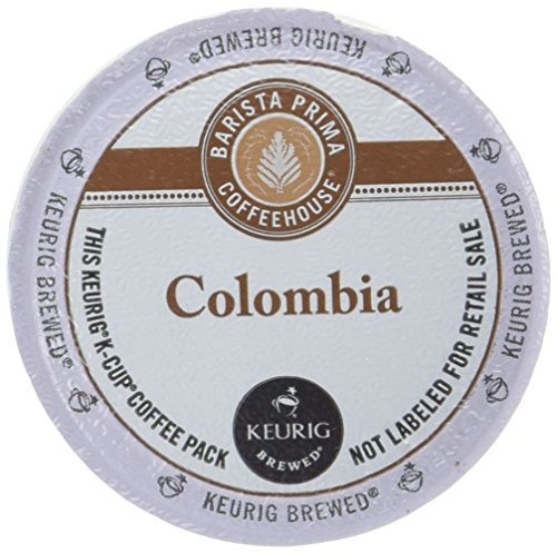 Barista Prima Coffeehouse Keurig Columbia Medium-Dark Roast K-Cups - 12 CT (Pack of 6)
