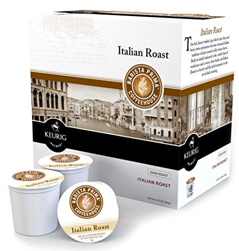 Keurig Barista Prima Coffeehouse Italian Roast Coffee K-Cup 18 ct