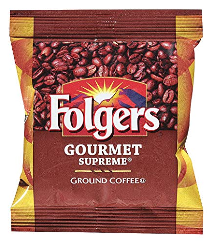 Folgers Coffee, Fraction Pack, Gourmet Supreme, 1.75oz, 42/Carton