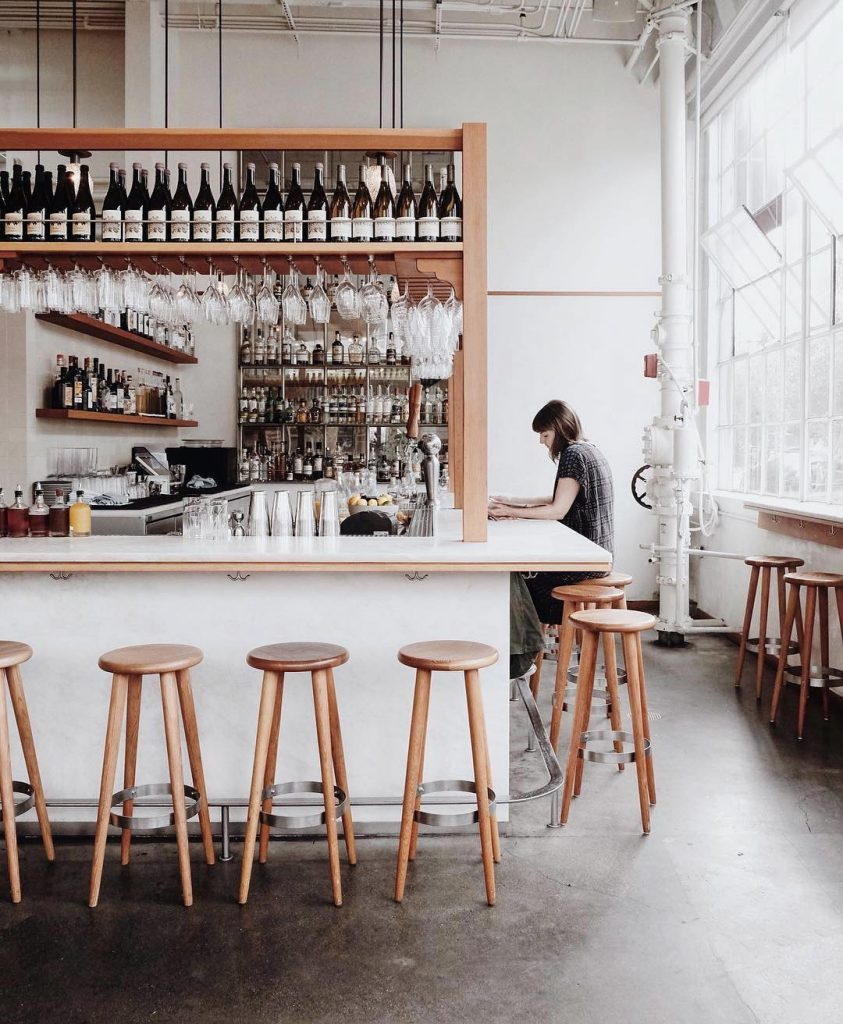 Coffee shop in san francisco