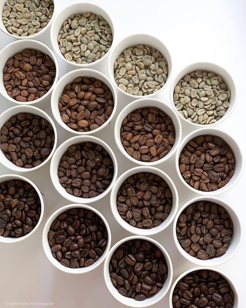 4 Types of Coffee Beans