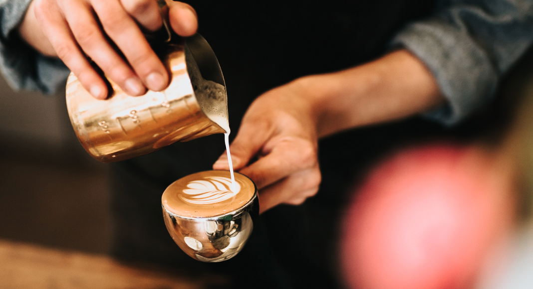 how to froth milk for cappuccinos