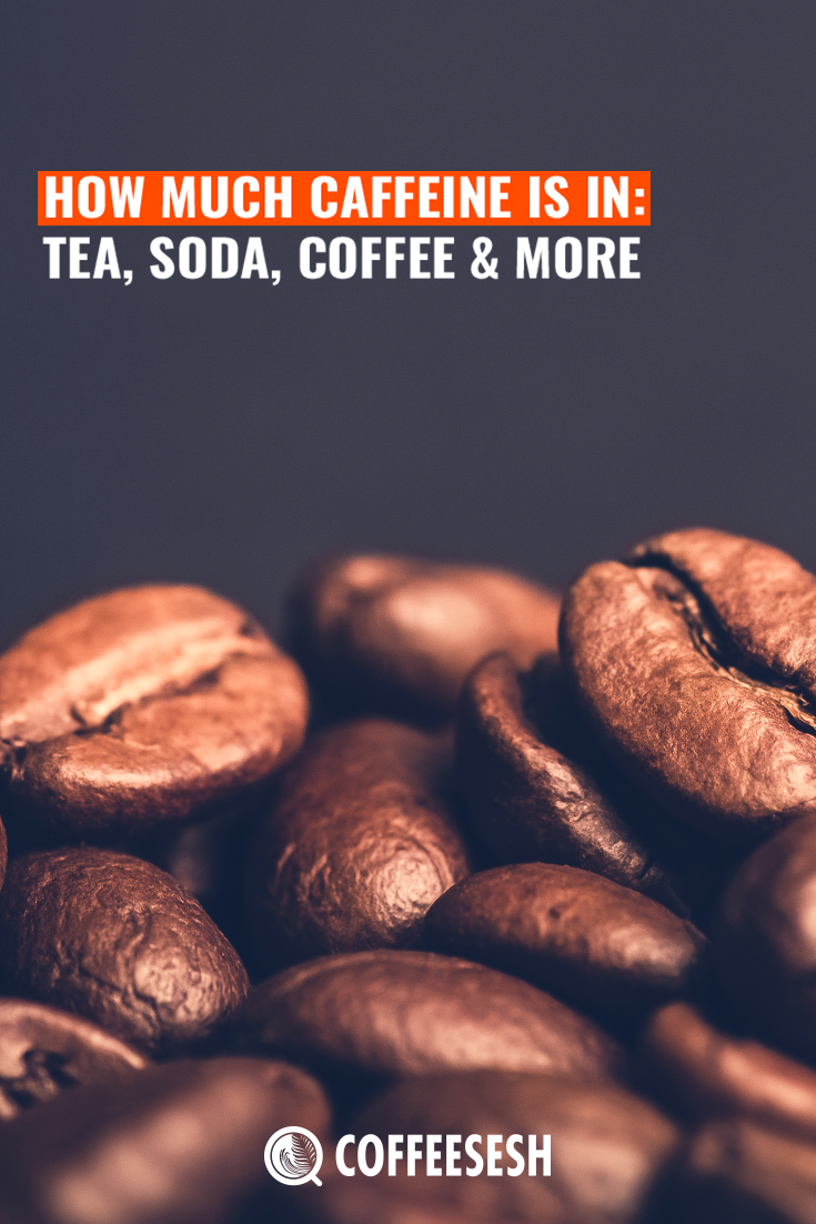 How Much Caffeine Is In: Tea, Soda, Coffee & More