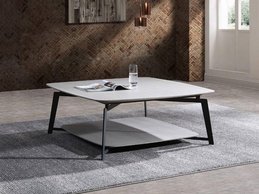 modern farmhouse coffee table