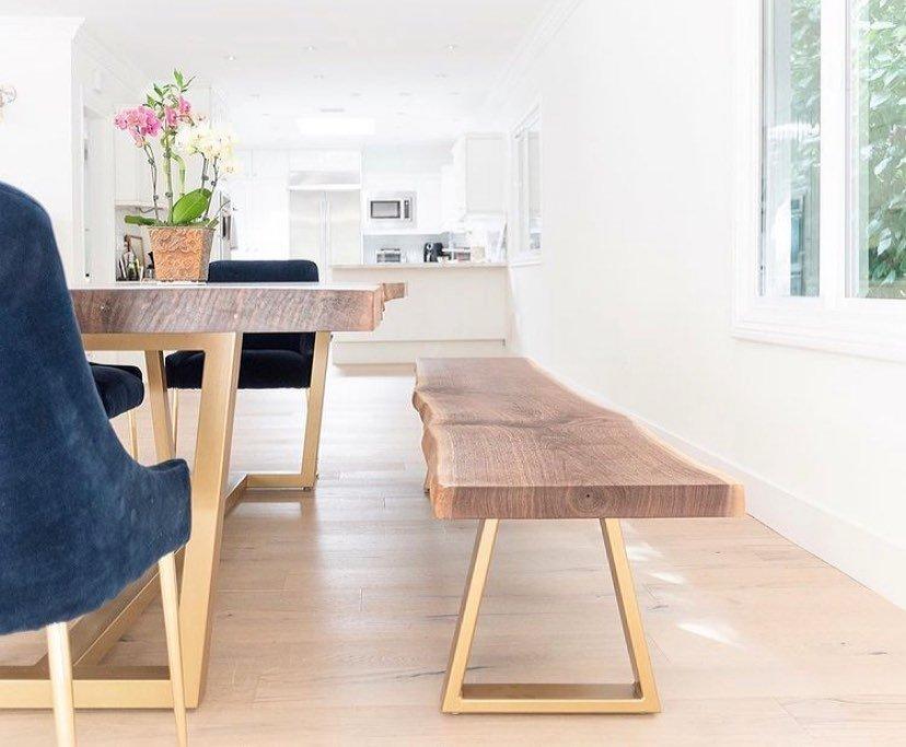 classic live edge coffee table