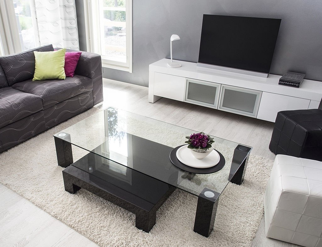Rectangle-Glass-Table-Tops-with-Storage-space